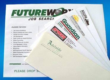 Custom envelopes in various sizes, colors and inks. Printed Envelopes, Cheque Envelopes, Window Envelopes